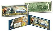 Hawaii - Official Genuine Legal Tender Us 2 Bill Honoring America's 50 States