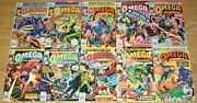 Omega The Unknown 1-10 Fn/vf Complete Series - Steve Gerber - 2 3 4 5 6 7 8 9