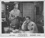At War With The Army Original Lobby B/w Still Photo Jerry Lewis/dean Martin