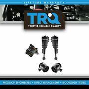 Trq 5 Piece Air Suspension Kit Front Shock Assemblies W/ Rear Springs For Ford