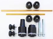 Oes Carbon Frame Sliders Spools Fork And Axle Sliders 17 2018 2019 2020 Fz10 Mt-10
