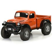Pro-line 1946 Dodge Power Wagon Cab+bed Body For 12.3 Wb Crawlers 3499-00