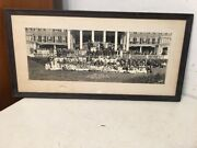 Antique Panoramic Photo Aetna Fire Insurance Outing Hotel Griswold Groton Ct