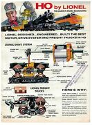 1959 Lionel Model Railroad Catalog Ho Scale The Best Motor And Drive System