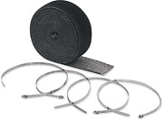 Accel High-temperature Exhaust Wrap Kit - Black - 2in X 25ft 2002bk