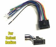 Car Stereo Radio Replacement Wire Harness Plug For Some Dual 16 Pin Radios Xml1