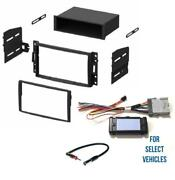 Car Stereo Radio Install Dash Chime Bose Wire Kit Combo For Select Gm Vehicles