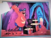 Andldquohassans Chopping Spreeandrdquo Hand Signed Limited Edition Cel Bugs Bunny Looney Tunes