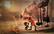 The And The Pauper 1990 Original Production Cel And039walt Disneyand039 / Mickey