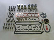 Deluxe Engine Rebuild Kit 1929 Chevrolet 194 6cyl Pistons Valves Lifters Chevy