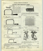 1917 Paper Ad Lester New Rogers Iron Treadle Pedal Foot Power Scroll Saw Lathe