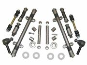 Front End Repair Kit 38 Oldsmobile 1938 With King Pins Bushings Tie Rod Ends
