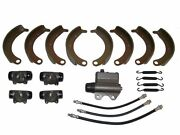 Deluxe Brake Kit With Shoes Master Wheel Cylinders 1940 Plymouth P9 P10 New