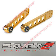 Skunk2 Pro Gold Rear Lca Lower Control Arm For 02-06 Acura Rsx / 03-08 Element