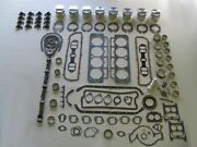 Master Engine Rebuild Kit 59 60 61 Buick 401 V8 New With Pistons Rocker Arms