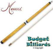 Meucci Pogo Antique Jump Pool Cue And Free Hard Case - In Stock