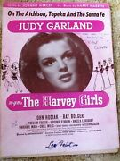 The Atchison Topeka And The Santa Fe Judy Garland The Harvey Girls Sheet Music