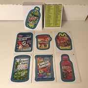 Wacky Packages All New Series 10 Ans10 2013 Complete Blue Parallel Card Set