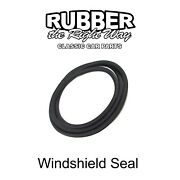 1968 - 1979 Volkswagen Transporter Windshield Seal - Without Groove For Trim