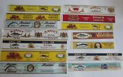Lot Of 14 Old 1920's - Tuna Lobster Crab - Can Labels - Calvert Litho - Sample