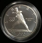 1992-s 1 Xxv Olympic - Commemorative Silver Dollar Proof