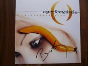 A Perfect Circle Billy Autographed Signed 12x12 Lp Photo Psa Bas Guaranteed