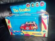 The Beatles Corgi Psychedelic Mini- Limited Edition Withdrawn Diecast Model New
