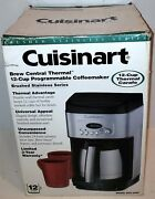 Newcuisinart Dcc-2400 12 Cup Programmable Thermal Stainless Steel Coffee Maker