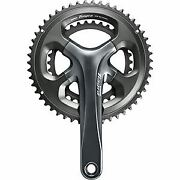 Shimano Tiagra Fc-4700 Tiagra Double Chainset 10-speed, 52/36, 175 Mm Silver