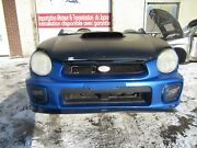 2002 Subaru Wrx Sti Front Clip Jdm Bugeye Front Clip Chargespeed Fenders