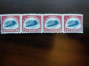 4 Four Repro Us Stampinverted Jenny 24 Cent C3blank Back And Gummed Free Ship