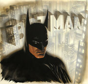 Alex Ross Batman The Legend Limited Edition Giclee On Canvas