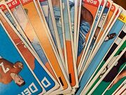 1965 Topps Football Cards Singles Pick Your Card + Pick Your Bvg Graded Card