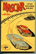Nascar Yearbook 1954-early Auto Racing Publication-rare