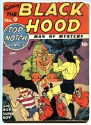 Top-notch Comics 9-1940-first Appearance Of Black Hood-scarce In Guide-mlj