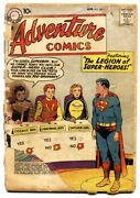 Adventure 247 Silver-age Dc Comic Book-first Legion Of Superheroes