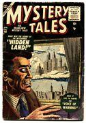 Mystery Tales 40 Lost Tv Show Issue-ditko-1956- Atlas Horror