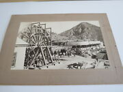 Exc Lot Of 8 Photographs Marius Mill Cyanide Plant Gold Mining Mexico Colorado