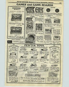 1928 Paper Ad Tootsietoy Pewter Toys Ford Car Mack Truck Cadillac Tractor Buick