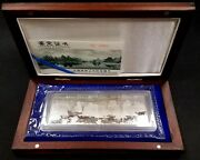 1998 4 Pc 20 Yuan Commemorative Silver Coins Of China Guilinand039s Landscape