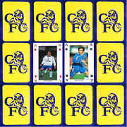 Cfc Football Playing Card Chelsea Single Cards - Various Players