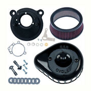 S And Stealth Air Filters Mini T Black For Harley-davidson Sportster 91-03 Super E