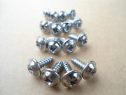Old School Chrome Wheel Well Screws Fits Mopar Dodge Charger Plymouth Cuda D100
