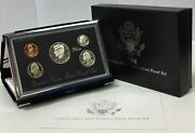 1998-s Premier Silver Proof Set In Original Government Packaging