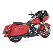 Vance And Hines 2-1 Pro - Pipe Black For Harley - Davidson Touring 10-16