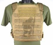 Grey Ghost Gear Minimalist Molle Body Armor Hard Plate Carrier Usmc Coyote Brown