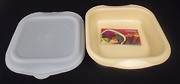 Tupperware Ultra Pro 21 Ovenworks 2 Sq Square Pan And Seal Freezer Oven Safe New