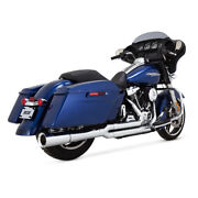 Vance And Hines 2-1 Pro - Pipe Chrome, For Harley - Davidson Touring 17-19