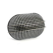 Breather Style Air Filter Oval Chrome For Harley Davidson With Bendix, Tillotson