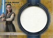 Star Wars Masterwork 2018 Source Material [1/1] Chase Card Jr-rt Rey Des. Tunic